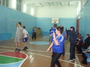 Новогодний волейбольный турнир