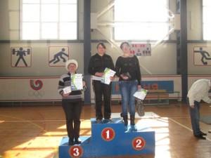 Нурова Зульфия 3 место